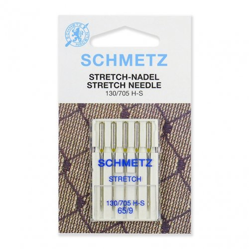 Иглы для шв. машин  Schmetz STRETCH 130/705 Н-S №65 (5шт)